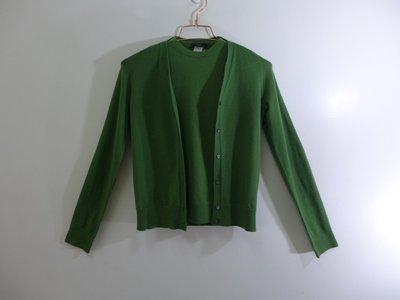J.CREW 綠色雅緻2件式針織上衣