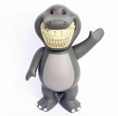 金錢貓雜貨 全新 Ron English x Made by Monsters 邦尼小恐龍 Barney Grin