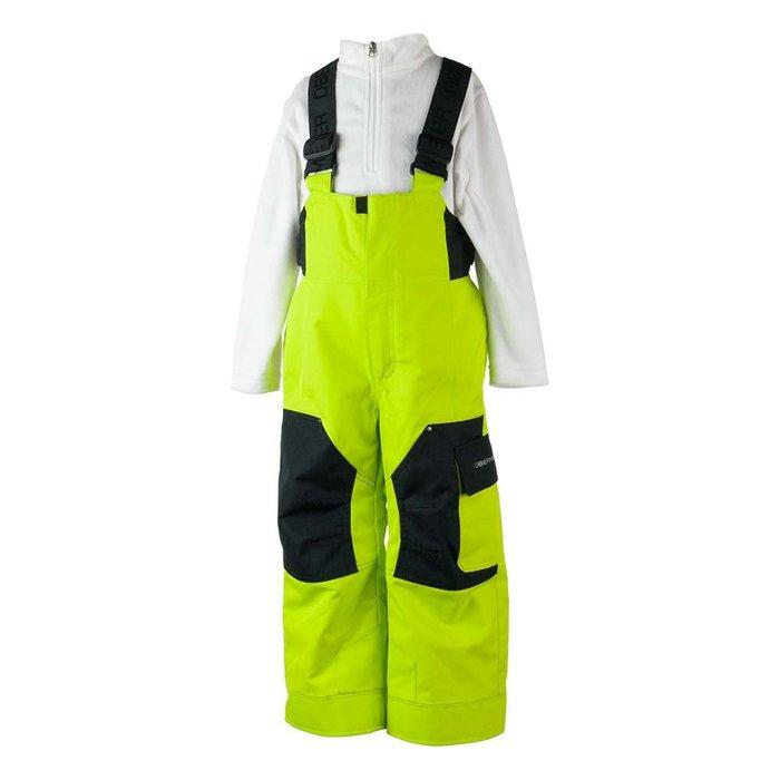 【荳荳物語】美國品牌Obermey鋪棉保暖吊帶童滑雪褲,防水係數10k,2380元