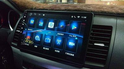中壢富馳汽車音響 三菱 FORTIS 汽車音響改裝JHY R310吋FORTIS專用安卓導航影音主機