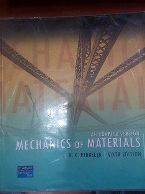 29)《Mechanics of Materials: An Adapted Version 6e》│些微泛黃