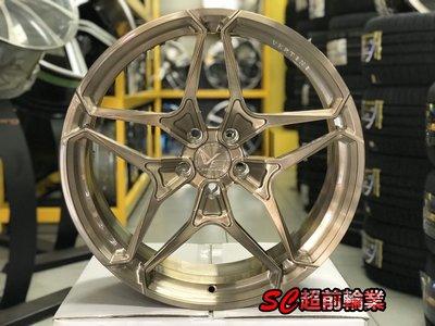 【超前輪業】VERTINI VS17 鍛造鋁圈 19吋鋁圈 5孔114 100 112 108 120 130 客製顏色