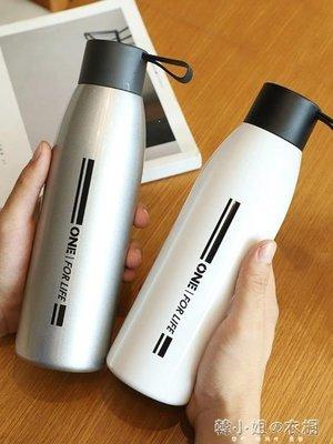 ZIHOPE 個性INS保溫杯男女大容量簡約小韓版學生便攜創意潮流網紅水杯子ZI812