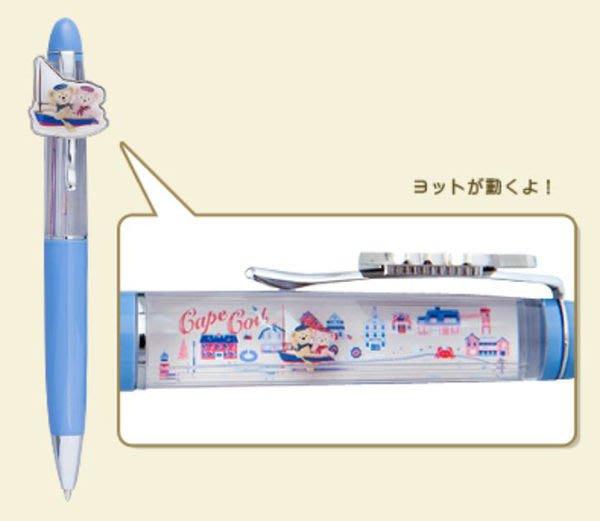 【日本迪士尼】Duffy達菲熊 Shelliemay雪莉梅 划船旅行風 漂浮小船原子筆 自動鉛筆 (預購)