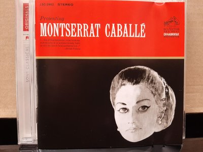 Caballe,Presenting,卡巴葉初試啼聲。