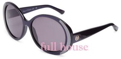 【FULL HOUSE 】Nicole Richie 設計品牌牌 HOUSE OF HARLOW 1960 黑色銀邊 明星款太陽眼鏡 /墨鏡