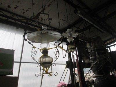 早期 古董煤油燈(歡迎留言詢問)