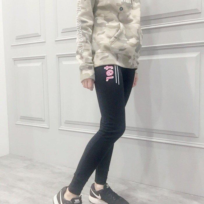 【現貨出清不退換】HCO 女 LOGO JOGGERS 內刷毛貼布 緊身縮口長棉褲 保證正品 歡迎來店參觀選購