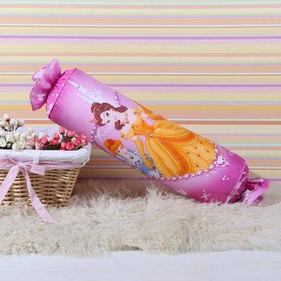 8款 迪士尼 糖果枕 卡通抱枕 全棉靠枕~ 公主  15~45CM