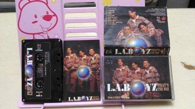 波麗佳音 洛城三兄弟 啊哈 錄音帶磁帶 L.A. BOYZ That's The Way 17直播 17練習生 麻吉大哥