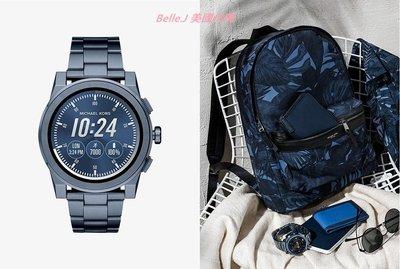 ❤Belle.J 美國代購❤ 2018最新 Michael Kors Grayson 深藍斜面錶帶時尚智慧錶 MKT5028