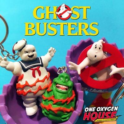 Ghostbusters 魔鬼剋星 史萊姆 棉花糖人 鬼 鑰匙圈 吊飾 玩具 公仔 扭蛋 米其林 抓鬼特攻隊 抓鬼敢死隊
