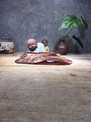 老撾大紅酸枝,精品 隨形座 木樣 紙鎮,紋路油性一流 無膠無漆  檯B15
