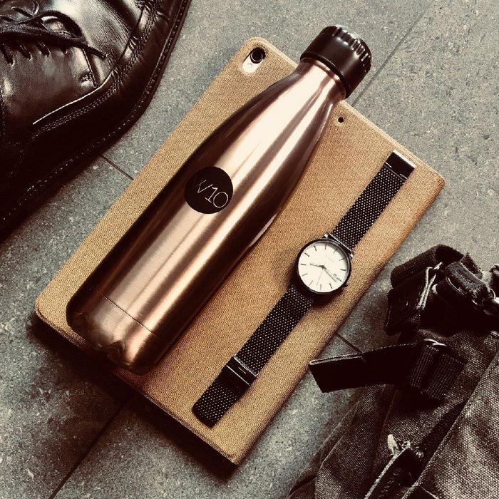 🍂 W10 雙層不鏽鋼真空保溫瓶 🍂 環保杯 水瓶 質感水壺 時尚分享杯 防滴漏設計