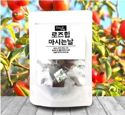 韓國 喝的美容玫瑰果茶10入