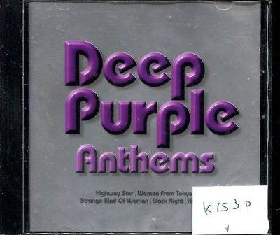 *真音樂* DEEP PURPLE / ANTHEMS 歐版 二手 K1530 (封底左側破)(99下標賣2)