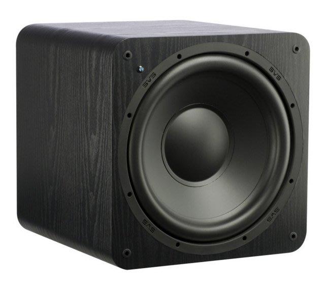 美國 SVS 重低音喇叭 SB-1000 木紋 新店音響