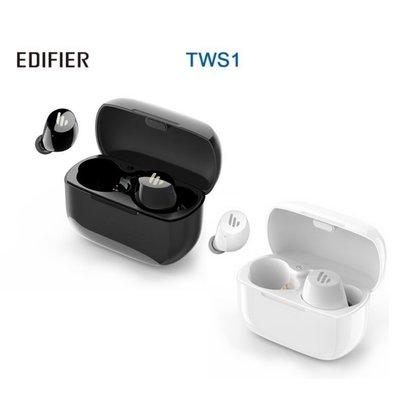 EDIFIER Edifier 漫步者 TWS1 真無線立體聲藍牙耳機 白/黑雙色可選 全新品公司貨保固