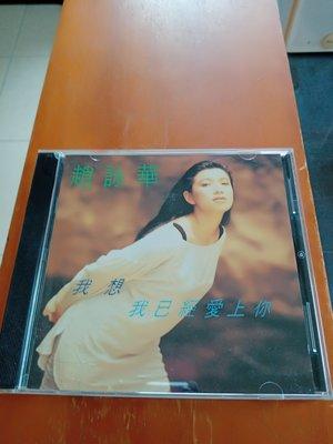 趙詠華 我想我已經愛上你 專輯CD  99.99新