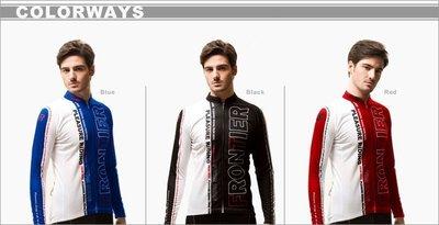 【Y&M幸褔小鋪】台灣品牌 前線國際 Frontier Compact 男生長袖車衣 紅色 L號
