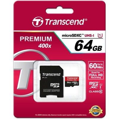 創見 Transcend microSDXC 64GB • 60mb/ s • 400x microSDXC TF 64G 台中市