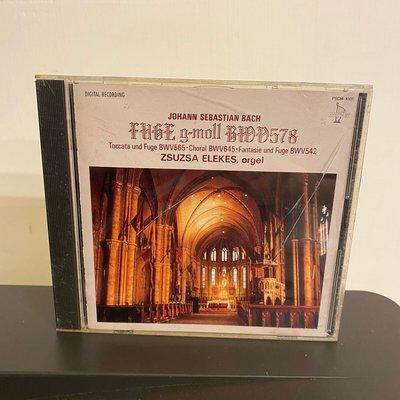 Fugue in G minor BWV578 BWV565 BWV645 BWV542 BWV582 BWV564 巴哈 音 CD 專輯