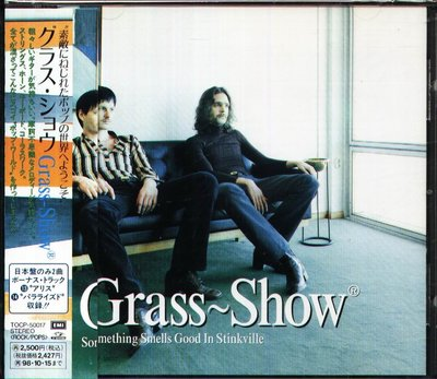 K - Grass Show - Something Smells Good In Stinkville 日版 +OBI