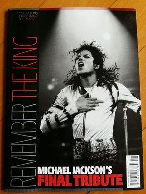 雜誌:Finale Tribute Remember The King 1958-2009-100頁Collectors To THIS IS IT-98%全新