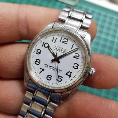 <行走中>水晶玻 清晰 不銹鋼 石英錶 ☆ 另有 飛行錶 水鬼錶 SEKIO TITONI CITIZEN TELUX CK IWC 機械錶 G08