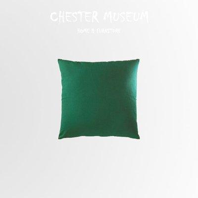 森林綠純棉素色抱枕 抱枕 靠墊 座墊 仿真 抱枕 仿真抱枕 椅墊 素面抱枕 素色抱枕 素色 抱枕 素面 抱枕