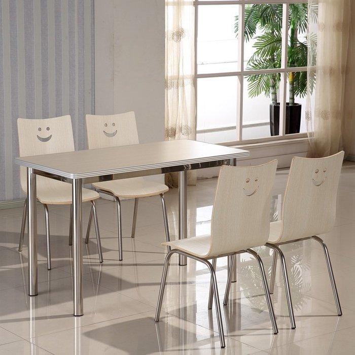 降價大促-食堂餐桌椅組合連身學校學生員工分體4人6人8人快餐飯店經濟型WY