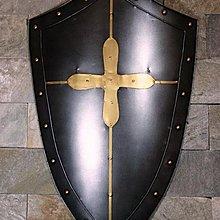 歐洲中世紀古羅馬複古仿真鐵制盾牌歐式盔甲酒吧咖啡西餐廳裝飾
