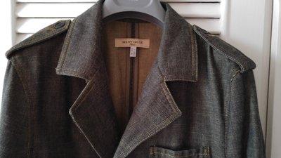 SEE BY CHLOE 西裝式牛仔丹寧外套