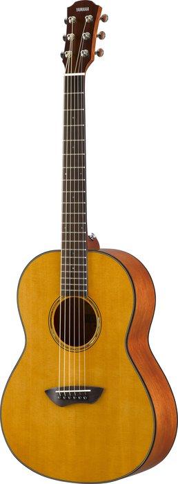 【六絃樂器】全新 Yamaha CSF1M 原木色 面單板 電民謠旅行吉他 / 現貨特價