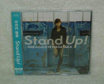 (網球王子)中河內雅貴-Stand Up!(日版初回CD+DVD限定盤)~全新!免競標