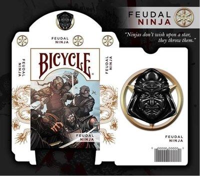 Bicycle ninja deck playing card