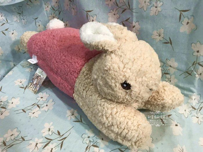 ~*歐室精品傢飾館*~Peter Rabbit 彼得兔 比得兔 鄉村風格 趴趴兔 造型 抱枕 絨毛玩具 粉 ~新款上市~