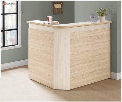 【南洋風休閒傢俱】餐廳家具系列-橡木鋼刷吧台 吧檯桌 餐桌 餐廳桌 (金601-1)