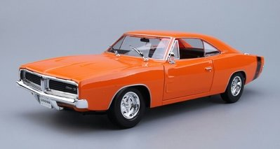 1969 道奇 Dodge Charger RT 橙色 DG31387 1:18 合金車 模型 預購 阿米格Amigo