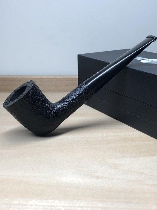 英國 Dunhill SHELL DPS4005/4105F 9mm濾芯 黑噴砂煙斗 0307020106
