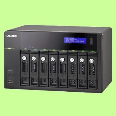 5Cgo【權宇】QNAP TS-869 PRO  網路儲存伺服器 大容量儲存空間與檔案分享 會員扣5%