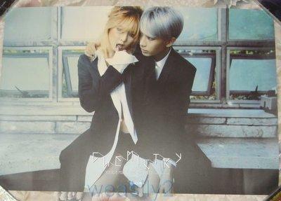 (Beast JS & 4MINUTE HYUNA 賢勝與泫雅) Trouble Maker Chemistry【海報】