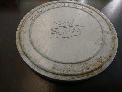 早期八厘米影片200-FT 8mm Royal Scope Reel (好像有拍過,但影片太細小,看不清楚,不保證影片品