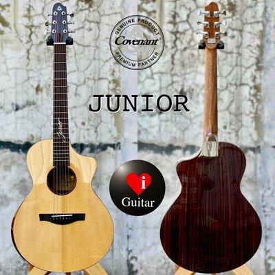 【iGuitar】卡弗蘭特 Covenant JUNIOR 北美雲杉/玫瑰木面單旅行吉他iGuitar強力推薦