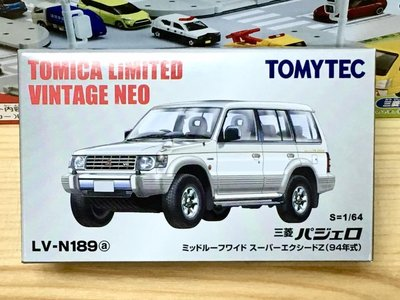 TOMYTEC LV-N189a 三菱 PAJERO SUPER EXCEED Z (94年式, 銀)