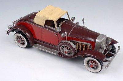 模型館(Q761-1)德國古董金屬老爺車