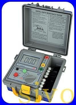 ☆SIVO蘋果商城☆台灣製SEW 2120ER/ST-2120 ER 接地電阻計 三線式數位接地電阻計