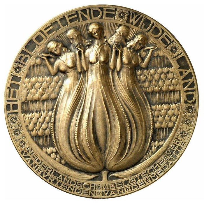 尼德蘭銅章 1912 Nethenland Horticulture Medal