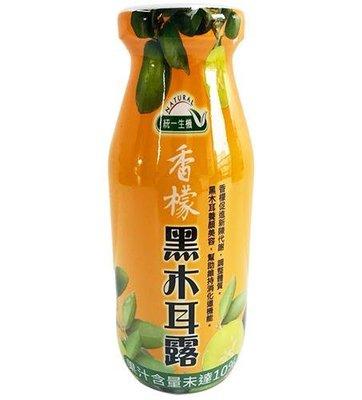 統一生機 香檬黑木耳露 200ml*24瓶/箱