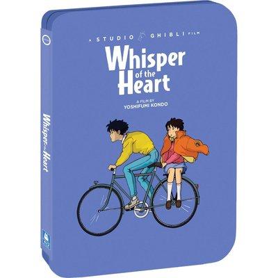 BD 全新美版【心之谷】【Whisper of the Heart】Blu-ray 藍光 鐵盒版 宮崎駿